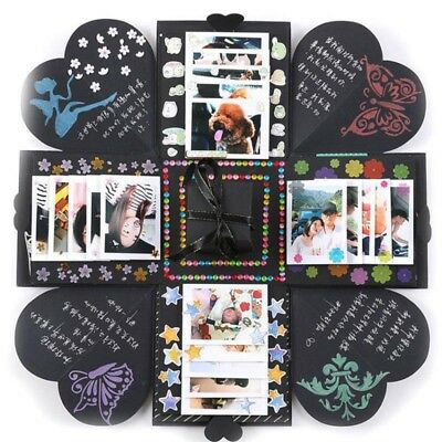 Explosion Box Memory Sammelalbum Foto Album DIY Craft Kits Anniversary Gifts Hot
