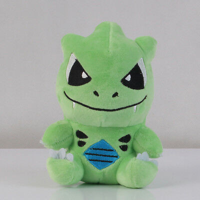 Pokemon Center Tyranitar Stuffed Figure Soft Plush Toy Doll 7 inch Xmas Gift