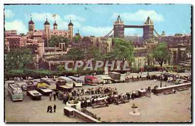 London - The Tower and Tower Bridge - CPA