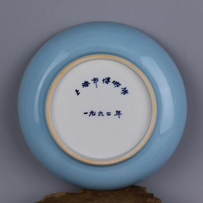 Collect 1962 China Celadon Glaze Porcelain Plate Bowl Tray Tableware