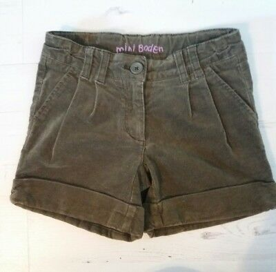 Mini boden shorts age 7 years BNWOT
