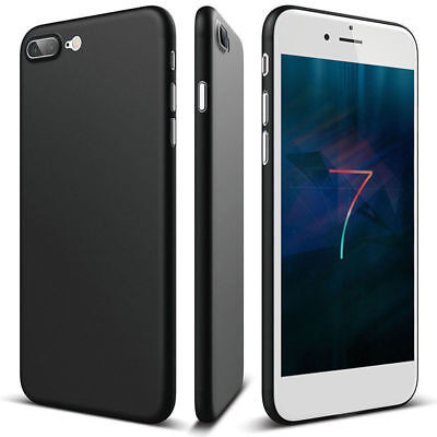 Shockproof Flip Ultra Hard Thin PC Bumper Case Cover for iPhone 8 6 7 Plus