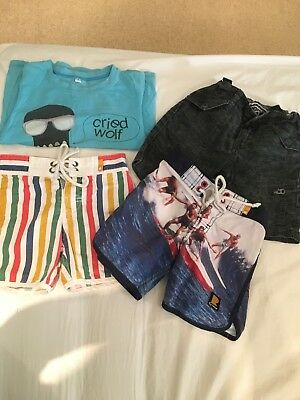 Rock your baby Boys Shorts T shirt Size 3