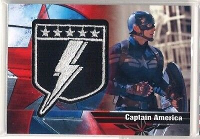 2014 UD Captain America The Winter Soldier Badges Insert B-8 RARE