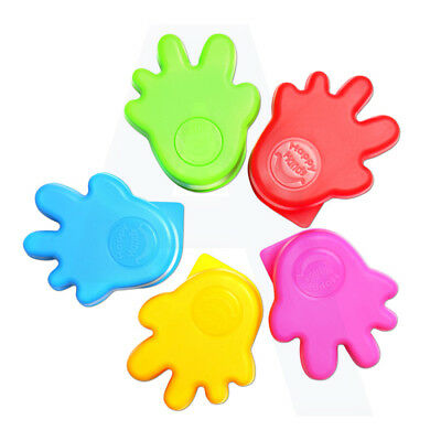 Happy Hands Door Stopper Baby Safety Finger Protection Hand Shape - 2 Pack