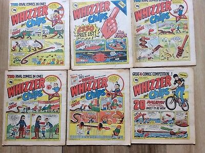 Whizzer and Chips x 6 issues