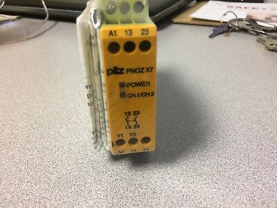 PILZ 774059 PNOZ X7 24VDC/AC2n/o SAFETY RELAY
