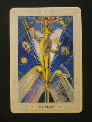 The Magus Tarot Card 3.75x5.51