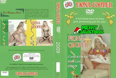 Fiona cooper SIX HOUR CHRISTMAS SPECIAL 2009 coster 2 X DVD`S VERY RARE