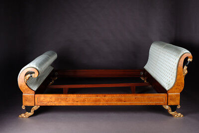 Empire Swans Double Bed Bed in the Style Of The Classicism