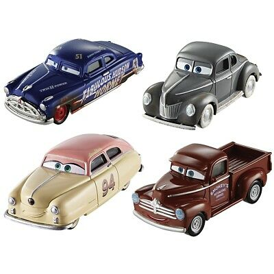 Mattel - Cars Legends, 4er Pack