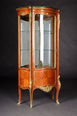 French Salon Cabinet in the Style of the Louis XV Rococo
