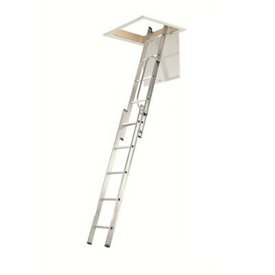 Werner 76002 Loft Ladder 2 Section with Handrail 2.69 Metre