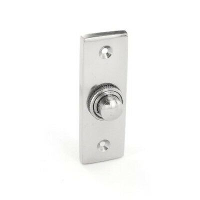 Securit S2942 Chrome Bell Push 75mm Pack Of 1
