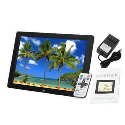 Digital Photo Frame LED 15-inch HD Widescreen 1280 x 800 Picture Black