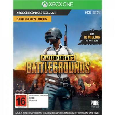 Microsoft Xbox One PLAYER UNKNOWNS BATTLEGROUNDS( PUBG ) Medialess, Download Cod