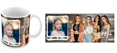 Personalised Little Mix No.1 Fan Mug Add Any Name & Photo Christmas Gift