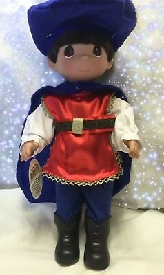 "Snow White Prince Charming - Precious Moments 12"" Vinyl Doll"