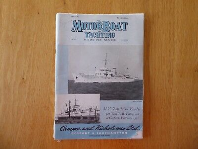 Motorboat and Yachting magazine March 1951