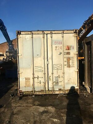 20ft Container Grey