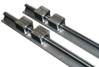 CNC 4pcs SBR20 UU 2700mm Linear Bearing Rails rod SBR20 2 pcs-New
