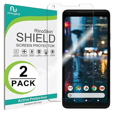 [2-PACK] RinoGear Screen Protector for Google Pixel 2 XL (Active Clear Shield)