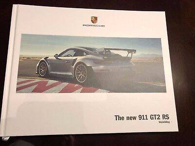 Porsche, The New 911 GT2 RS, 2017 Hard Cover Book