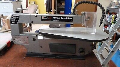 SIP 01357 Variable Speed 400mm Scroll Saw. 230v. Barely Used, VGC, With Blades