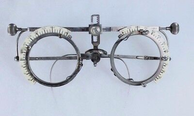Antique Patent 1895 Optometrist Trial Glasses Optometry Steampunk Frames