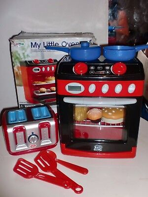Toy Cooker - My Little Oven - Battery Operated/Lights/sounds - plus Toaster