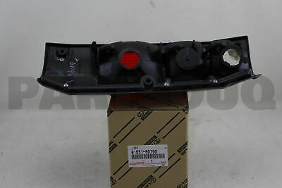 8155160790 Genuine Toyota LENS, REAR COMBINATION LAMP, RH 81551-60790