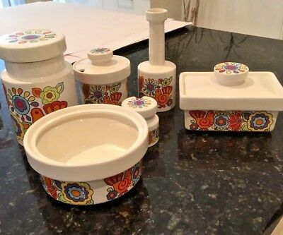 Retro Gaytime Pottery collection, Lord Nelson Ware - circa 1970