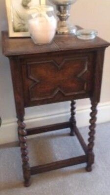 Antique Side Table Writing Desk