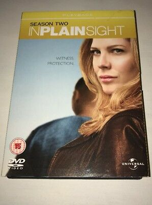 In Plain Sight - Series 2 - Complete (4-Disc DVD Box Set 2009) SECOND SEASON TWO