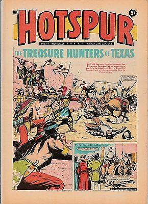 HOTSPUR COMIC No 432 January 1968 Very Good condition