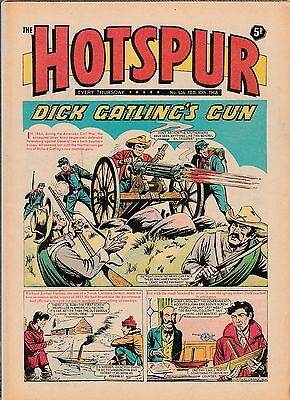 HOTSPUR COMIC No 434 February 1968 Very Good condition