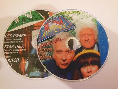TV ZONE MAGAZINE on DVD CULT TELEVISION SERIES SCI-FI etc.