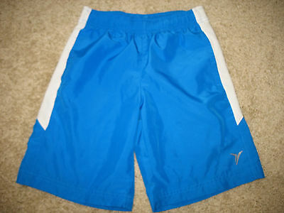 Boys size S Small Old Navy Active Athletic Shorts Pull-on Running Polyester Blue