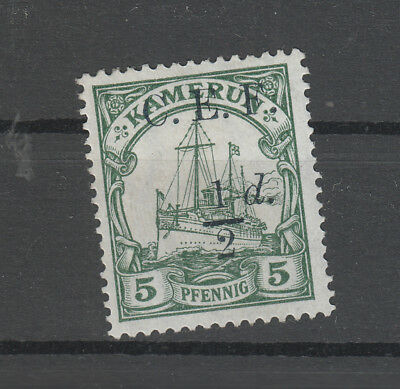 Cameroun , Expidition Force 1/2D On 5 Pf Mh