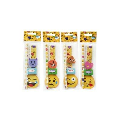 SET 5 PCS de Papeleria Emoticonos