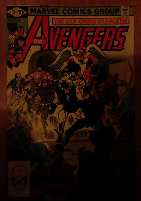 Avengers Vol 1 #211 (1981) Hercules Black Panther VF Combined P&P Available