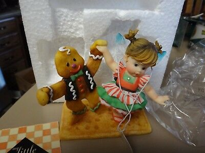 Enesco New Fred and Ginger My Little Kitchen Fairies NIB