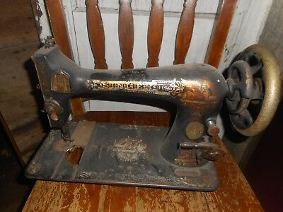 Singer Model 27 Sphinx ? Sewing Machine   Serial #14809296
