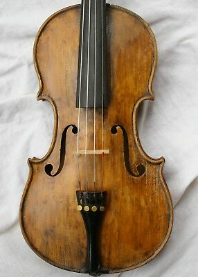 Nice Antique Italian Labelled Violin Petrus Guarnerius Mantua 1733