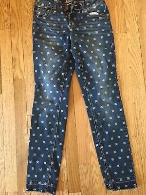 Justice Simply low Jegging Jeans, Girls, size 10, cat print
