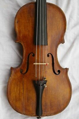 Nice Antique Violin Labelled Nicolau Amatus Cremonen. 1651