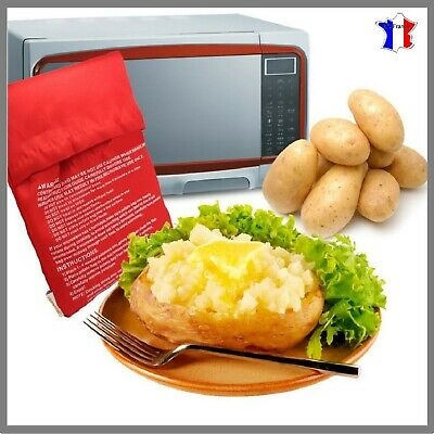 Sac cuisson pomme de terre express patates micro ondes rapide patate