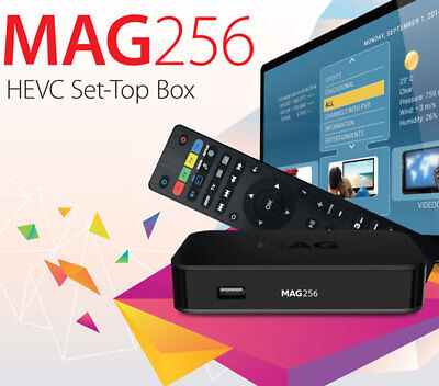 PROMO!!! Genuine MAG 256 from Infomir IPTV/OTT much faster than MAG 254