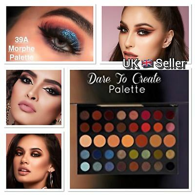 MORPHE Dare to Create 39A Eyeshadow Palette Make Up Holiday Gift  UK Seller 2018