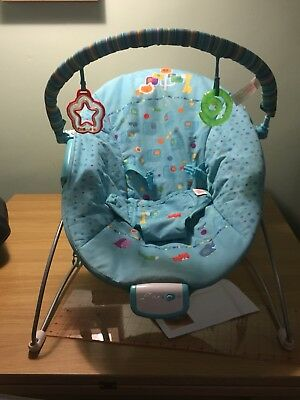 Bright Starts Bouncer With Vibrating Soother